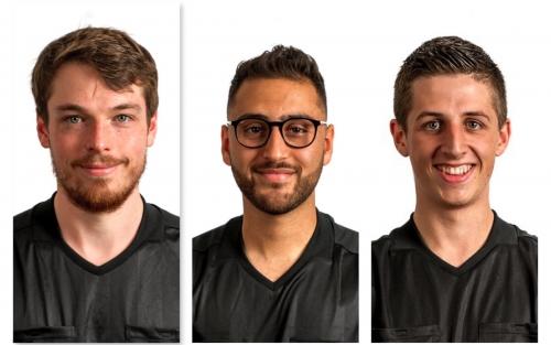 v. l. n. r. Dr. Johannes Bacher, Josef Mourad, Lukas Kefer