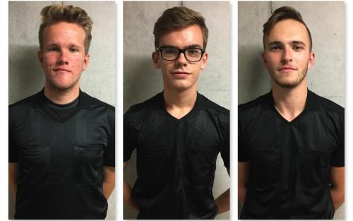 v. l. n. r. Jonathan Felthaus, Lukas Mayer, Lukas Lipp
